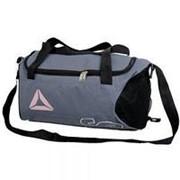 Сумка рюкзак спортивная серый фото