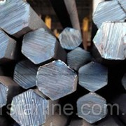 Шестигранник стальной калиброванный № 35 мм ст. 20, 35, 45, 40Х длина от 3 до 6 м фото