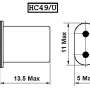 Резонатор кварцевый РК413 фото