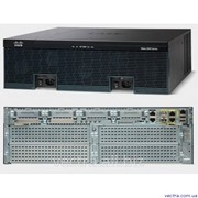 Маршрутизатор Cisco 3945 Sec Bundle w/SEC lic PAK (CISCO3945-SEC/K9) фото
