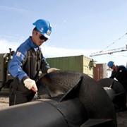 Строительство трубопроводов, Замена участка нефтепровода мн павлодар-шымкент фото