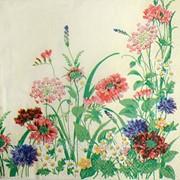 Салфетка для декупажа Луговые цветы фото