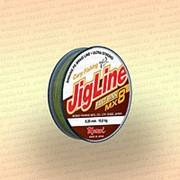 Плетенка JigLine Fast Sink 100 м, цвет - хаки, 0,20 мм, тест 14 кг фото