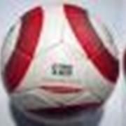 68-2011 Мяч футбольный. Материал: кожа (ПУ), глянцевая. фото