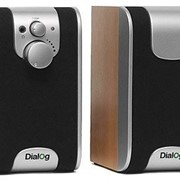 Система акустическая Dialog W-200 cherry фото