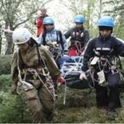 Поисково-спасательные работы с оказанием медицинской помощи фото