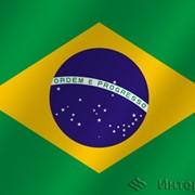 Флаг национальный Бразилия фото