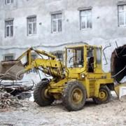 Вывоз отходов строительных фото