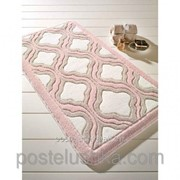 Коврик для ванной Confetti - Tiffany 57х100 см Пудра фото