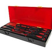 JTC-K9071 Набор отверток SL3-SL5.5, PH0-PH2 диэлектрических с ножом 7 предметов в кейсе JTC фото