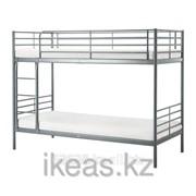 Каркас 2-ярусной кровати, серебристый СВЭРТА фото