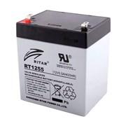 Аккумуляторная батарея AGM RITAR RT1255, Gray Case, 12V 5.5Ah ( 90 х 70 х 101 (107) ) Q10 фото
