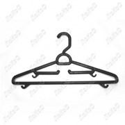 Вешалка детская с крючками черная, 345мм, В-102-NEW фото