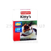 Витамины для кошек Beaphar Kitty's Cheese 75 таб. фото