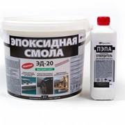 Эпоксидная смола ЭД-20. 5 кг. в комплекте с прозрачным отвердителем ТЭТА(500 г.) фото