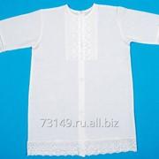 """Рубашечка для крещения """"Чудесные одёжки"""" артикул 1166 фото"""