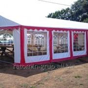 Шатёр для торжеств, свадебный шатёр, выставочный павильон. фото