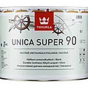 Tikkurila Unica Super EP 90, яхтный лак глянцевый, 9 л. фото