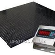 Весы платформенные ЭВП от 500кг до 3 тонн, тип 1500x1500x90 фото