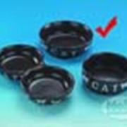 Миска керамическая Cat матовая фото