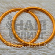 Кольца для слинга. Желтые фото