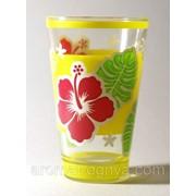 """Набор стаканов """"Гонолулу"""" (желтый) 310 мл высокий M31690 фото"""