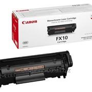 Услуга заправки картриджа Canon FX-10 для лазерных принтеров фото