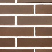 Облицовочный пустотелый кирпич Lode BRUNIS коричневый гладкий 250x85x65 фото
