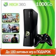 Игровая приставка Microsoft Xbox 360 slim 1000gb (LT+3.0 + Freeboot) + кабель HDMI фото