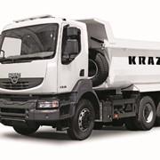 Самосвал КрАЗ С20.2R для перевозки сыпучих и навалочных грузов по всем видам дорог, Масса снаряженного - 12 600 кг. Полная масса - 33 000 кг. Г/п - 20 400 кг., пр-во АвтоКрАЗ, г. Кременчуг, Украина фото
