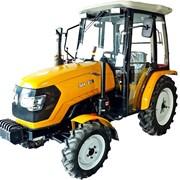 Мини трактор с кабиной фото