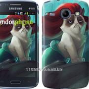 Чехол на Samsung Galaxy Core i8262 Grumpy cat 2936c-88 фото