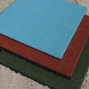 Покрытие резиновое Eco Standard 500 х 500 мм, толщиной 35 мм фото