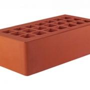 Керамический кирпич красный одинарный 1 NF фото
