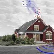 Защита дома от молнии фото