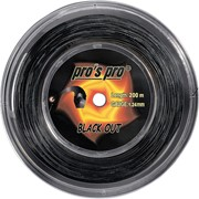 Струна для теннисных ракеток Pro'S Pro Black Out 200m фото