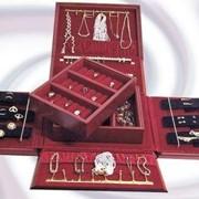 Эксклюзивная раскладная ювелирная шкатулка для ювелирных изделий, unique semi-automatic jewelry box фото