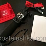 Remax подарочный набор (монопод aux, павербанк, кабель, подставка) Q36461 фото