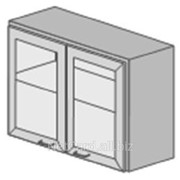 Шкаф навесной ТШ-21, 830*320*600, стекляные дверцы фото