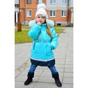 Пальто зимнее для девочки модель 7210И фото