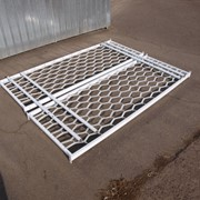 Металлокаркас двухъярусной кровати фото