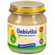 Пюре Bebivita Цветная капуста, с 4,5 мес 100 гр фото