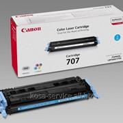 Заправка картриджа: Cartridge С-707Сyan Для принтера:Canon LBP 5000 фото