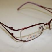 Оправа для очков женская XT444 бордовый фото