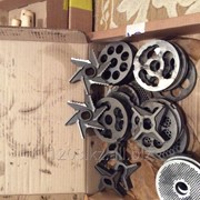 Нож 6-ти лопастной с зубцами от D114 до D200 , №83 для мясорубок,волчков фото