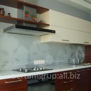 Кухонные стеклянные фартуки фото