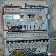 Установка электрощитов фото