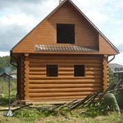 Дома из строганного бруса фото