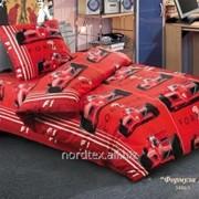 Детское постельное белье Free Style Формула 1. Текстиль для санаториев. фото