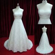 Свадебное платье модель - А003, цвет - слоновая кость фото